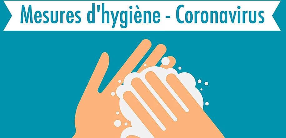 Mesures d'hygiène pour lutter coontre le covid 19